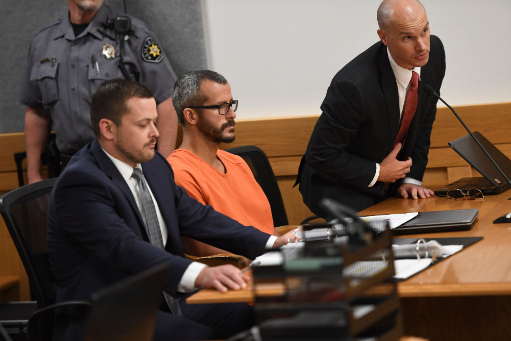 Christopher Watts in court for his arraignment hearing at the Weld County Courthouse on August 21, 2018, in Greeley, Colorado. (Getty Images)