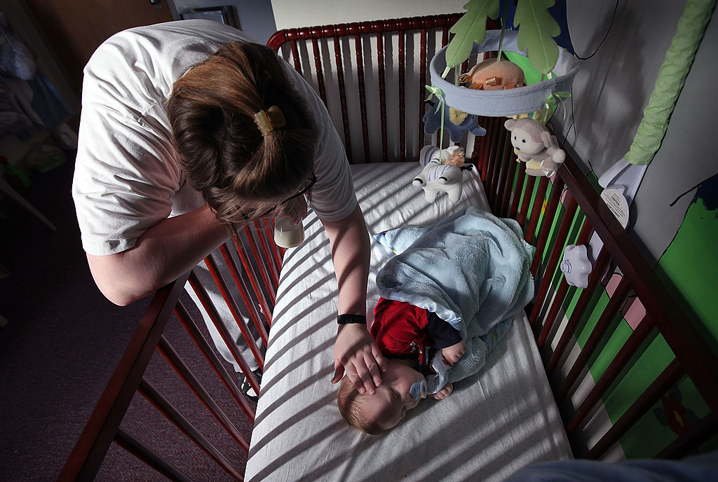 Parents who have a strict lights-out policy at a given time are in luck, for a new study has found that a regular bedtime routine could have a positive impact on your child's overall behavior. (Photo by Scott Olson/Getty Images)