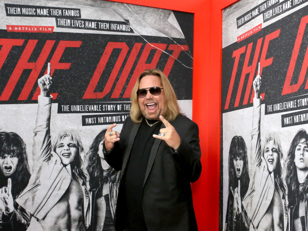 Vince Neil attends the premiere of Netflix's 'The Dirt' at the Arclight Hollywood on March 18, 2019, in Hollywood, California. (Source: Rachel Murray/Getty Images for Netflix)
