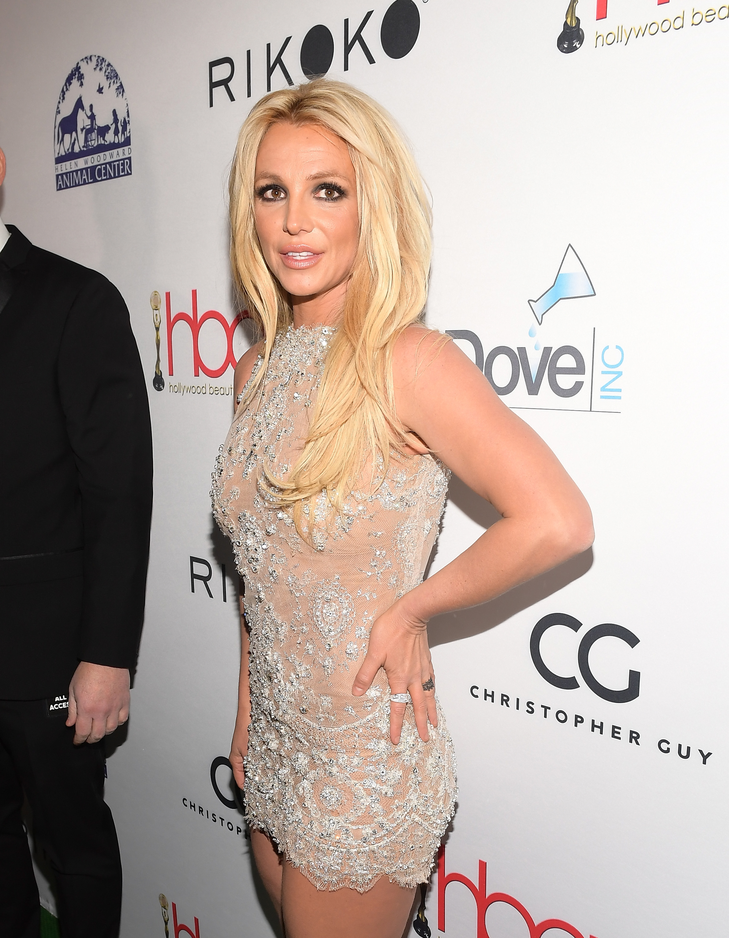 Britney Spears attends the 4th Hollywood Beauty Awards at Avalon Hollywood on February 25, 2018, in Los Angeles, California. (Getty Images)