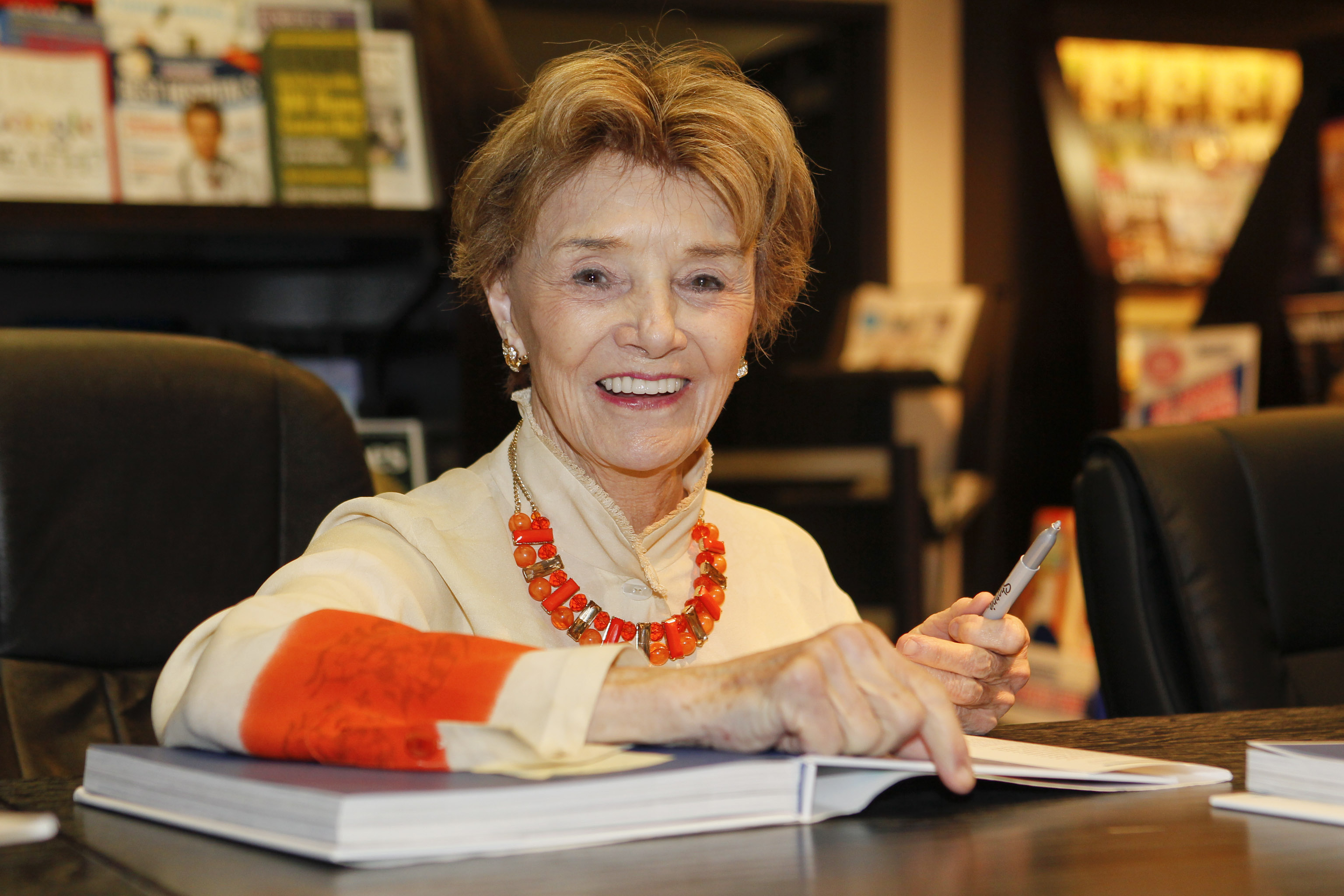 Actress Peggy McCay signs books and greets fans at the 'Days of our Lives: Better Living' book tour on September 27, 2013 in Birmingham, Alabama.