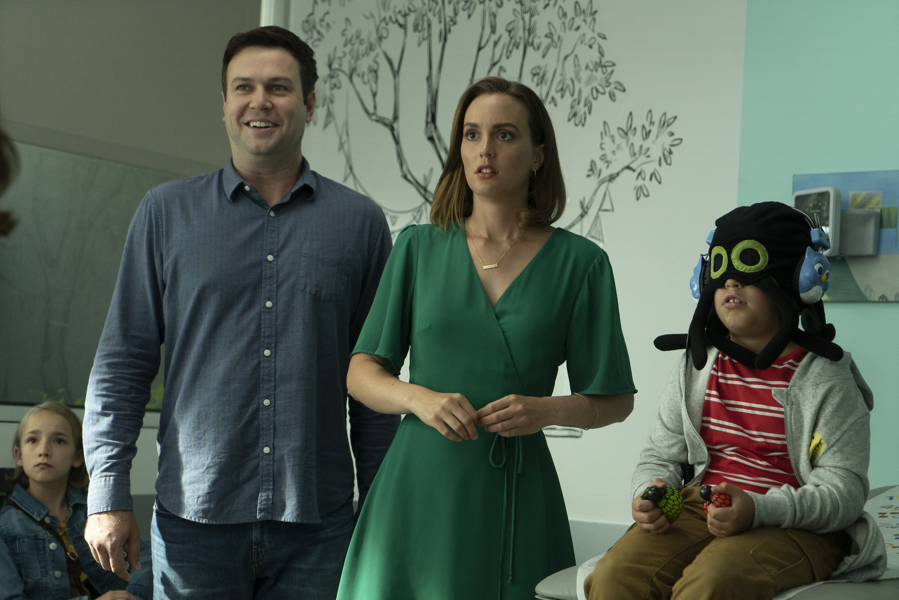 Taran as a single father in ABC's 'Single Parents'. (ABC)