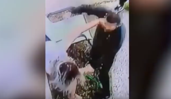 Her 23-year-old attacker has been apprehended by the police (Source: YouTube)