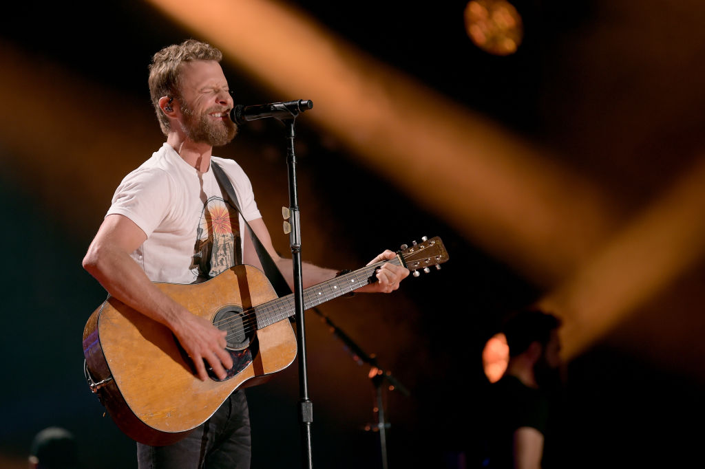 Dierks Bentley performs onstage during the 2018 CMA Music festival at Nissan Stadium on June 10, 2018, in Nashville, Tennessee. (Getty Images)