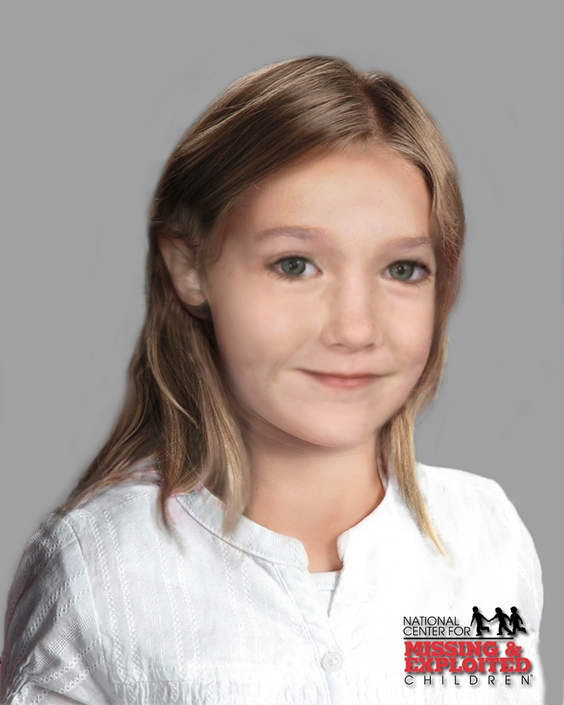 In this handout artists impression from the UK's national police centre for protecting children - the Child Exploitation and Online Protection (CEOP) Centre, a likeness of what missing child Madeleine McCann would look like today is seen. Madeleine disappeared on May 3, 2007 while on holiday with her family in Portugal and would now be 6 years old.