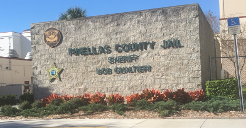 Brief is being held at the Pinellas County Jail on a $65,000 bond (Source: Google Maps)