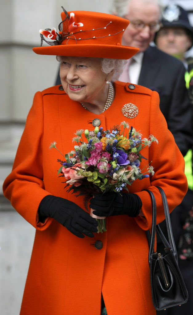 The Queen shared her first Instagram post while visiting the science museum (Source: Getty Images)