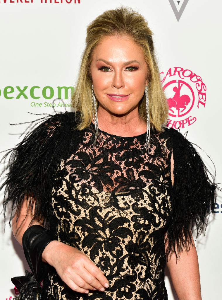 Kathy Hilton attends the 2018 Carousel of Hope Ball at The Beverly Hilton Hotel on October 6, 2018 in Beverly Hills, California. (Photo by Rodin Eckenroth/Getty Images)