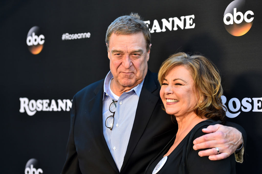 John Goodman and Roseanne Barr (Getty Images)