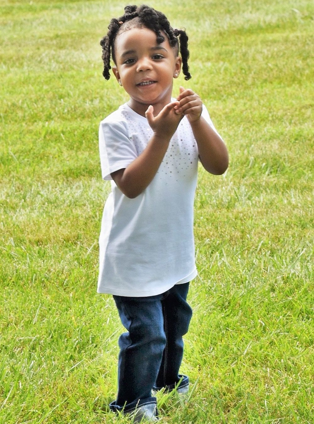 The toddler was accidentally shot by her 3-year-old brother Isaiah (Source: GoFundMe)