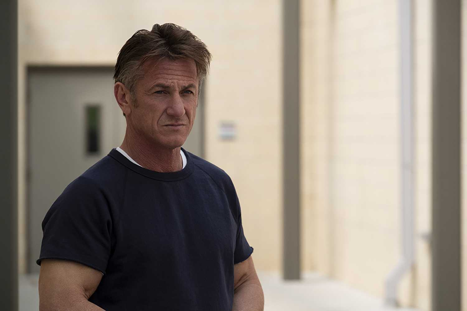 Sean Penn as Captain Tom Hagerty in Hulu's Mars mission drama 'The First'. (Image Source: IMDB/The First)