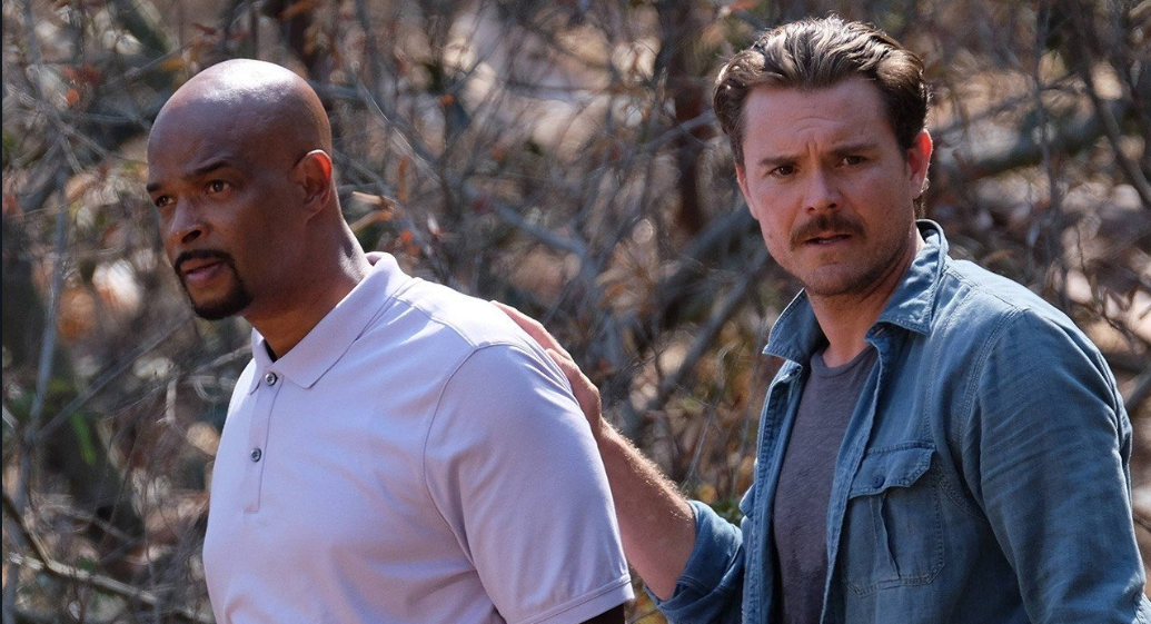 Damon Wayans (L) and Clayne Crawford (R) in a scene from Lethal Weapon. Source: Fox