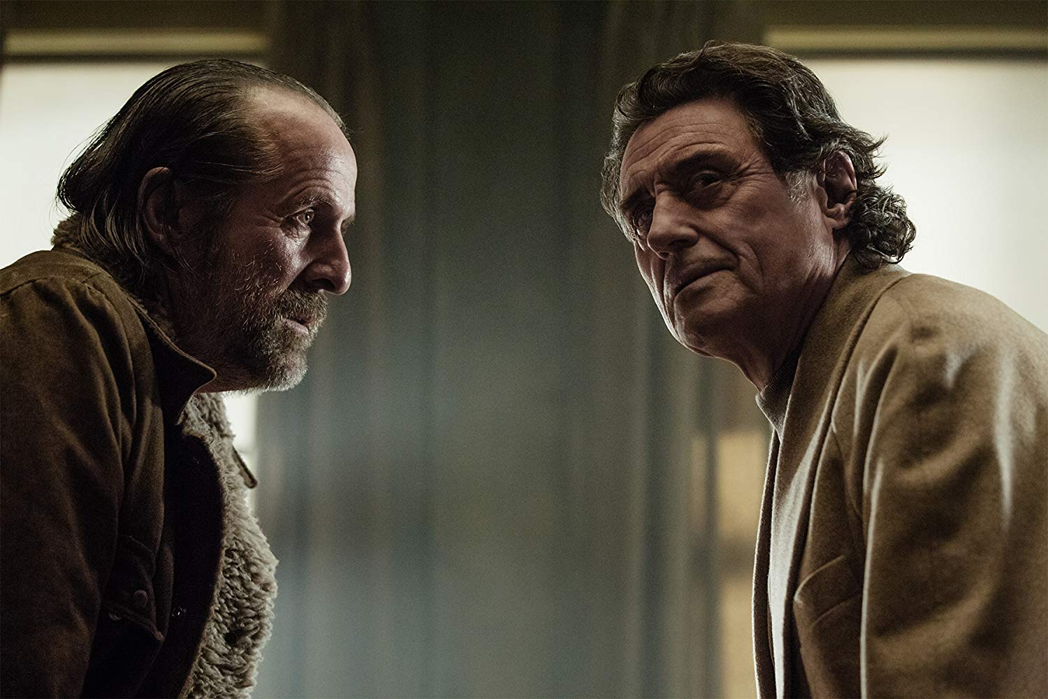 Czernobog and Odin in 'American Gods'. (Source: IMDB)