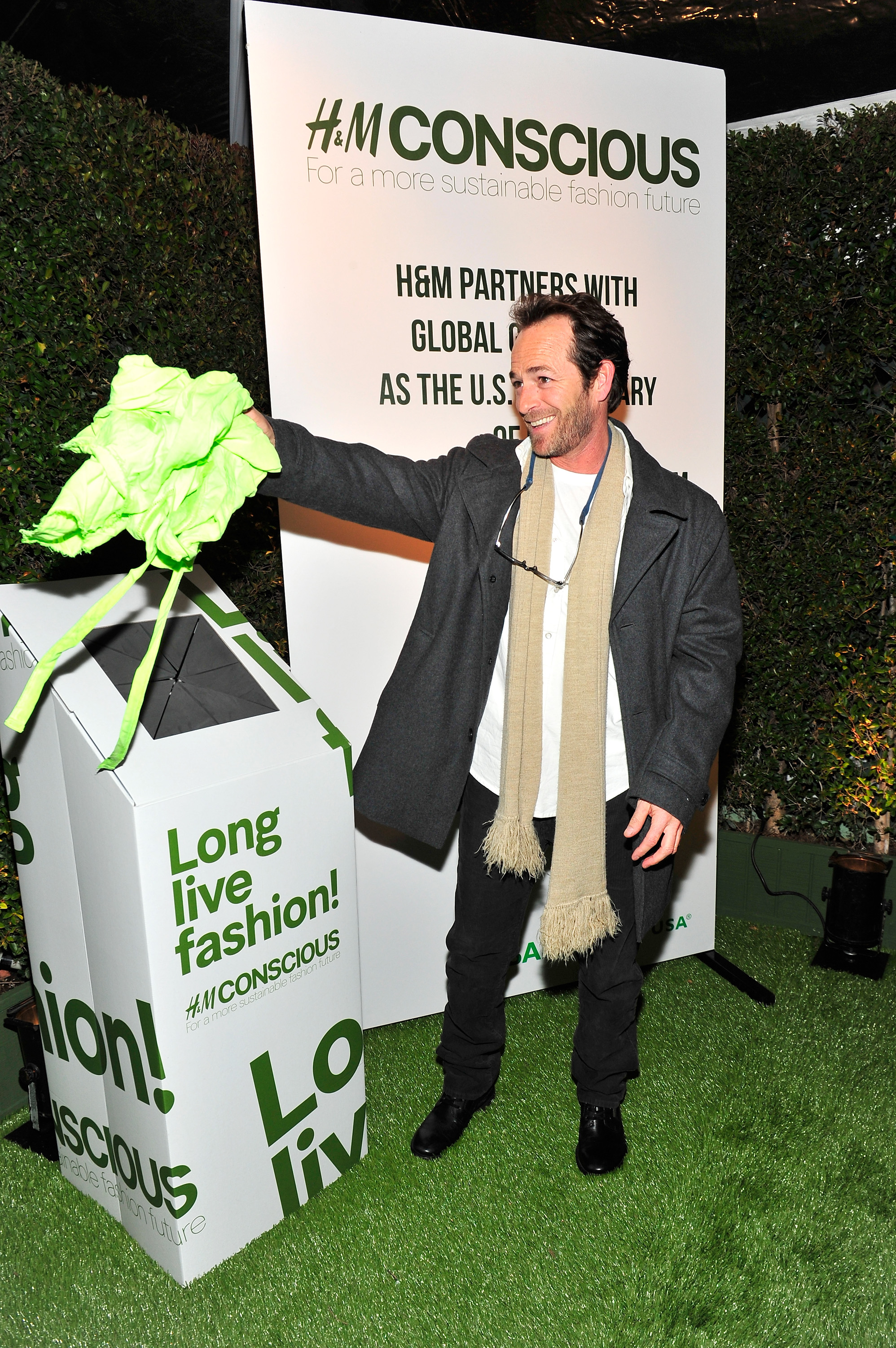 Actor Luke Perry attends Global Green USA's 10th Anniversary Pre-Oscar Party sponsored by H&M at Avalon on February 20, 2013 in Hollywood, California. (Photo by Jerod Harris/Getty Images for H&M)