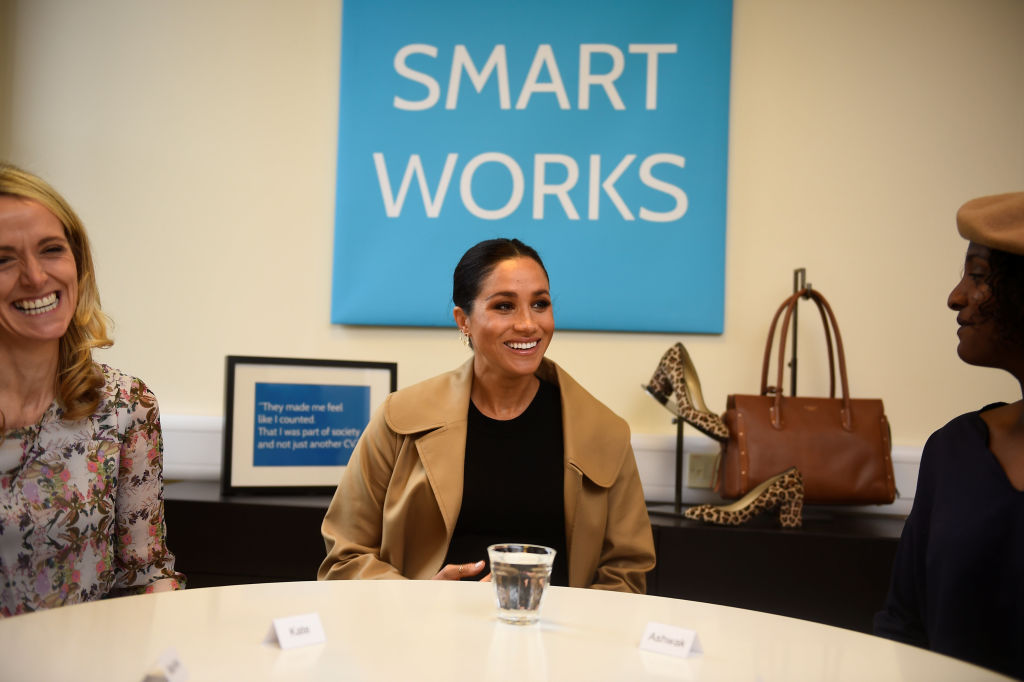 "Meghan Markle, the Duchess of Sussex, comes nothing close to ""difficult"" by staff, and the same insider further revealed that she is in fact ""well-liked"" by the members of her staff. (Photo by Clodagh Kilcoyne - WPA Pool/Getty Images)"