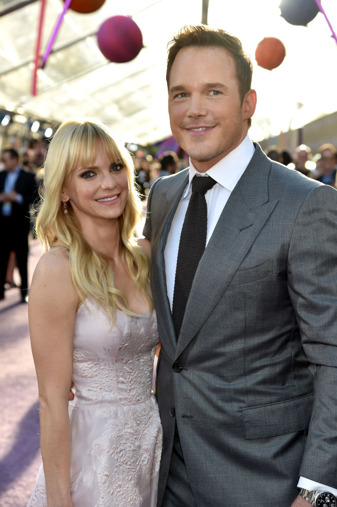 Anna Faris and Chris Pratt (Source: Getty Images)