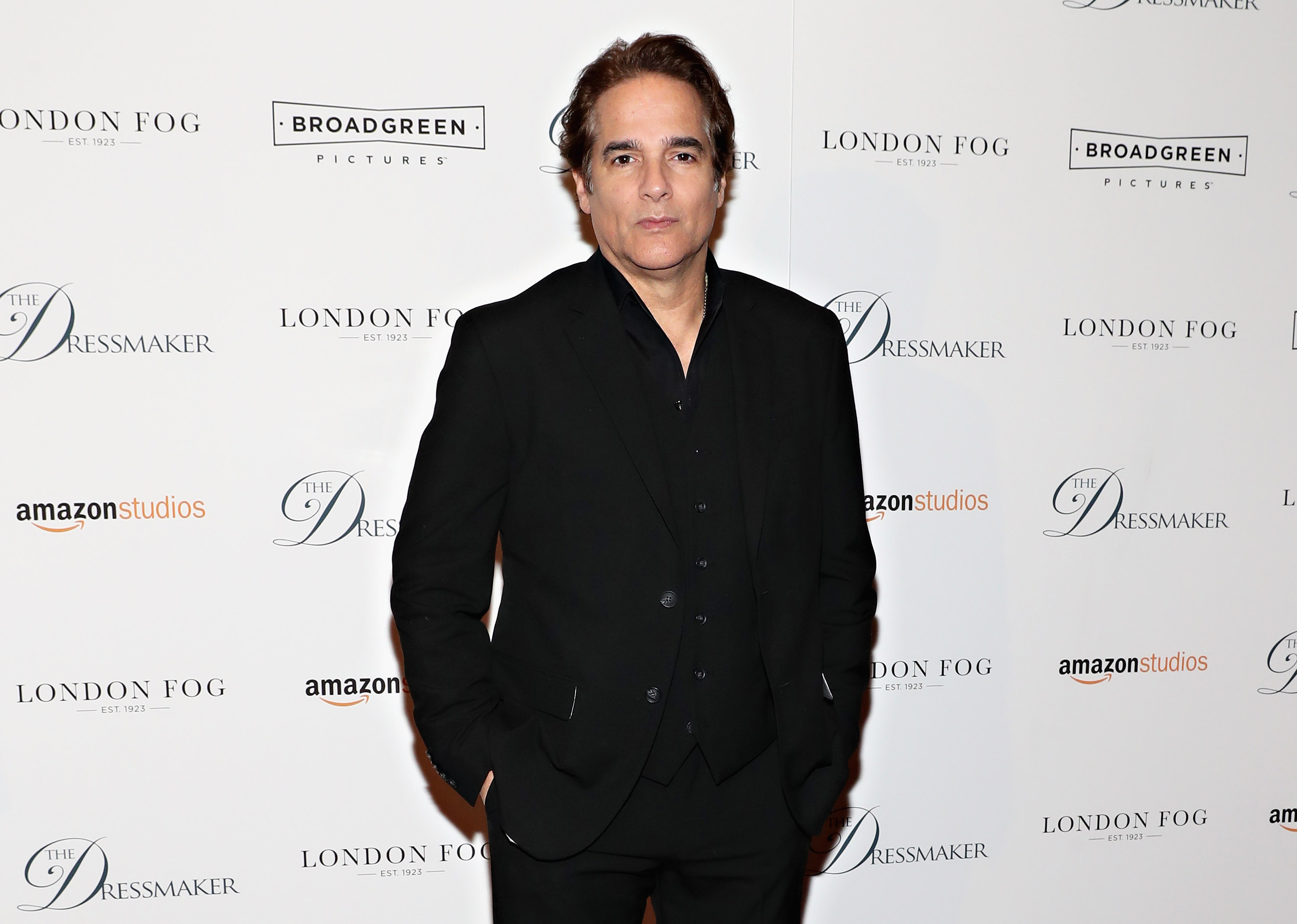Actor Yul Vazquez attends as London Fog presents a New York special screening of 'The Dressmaker' in New York City (Getty Images)