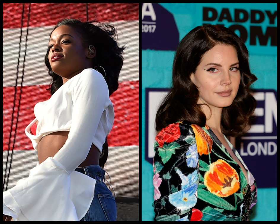 "Banks then went on to talk about the systematic racism in society and slammed Del Rey, saying she ""wouldn't dare challenge a black woman on her opinion"" given that there is a lot more prejudice between sexes than there is between women. (Getty Images)"