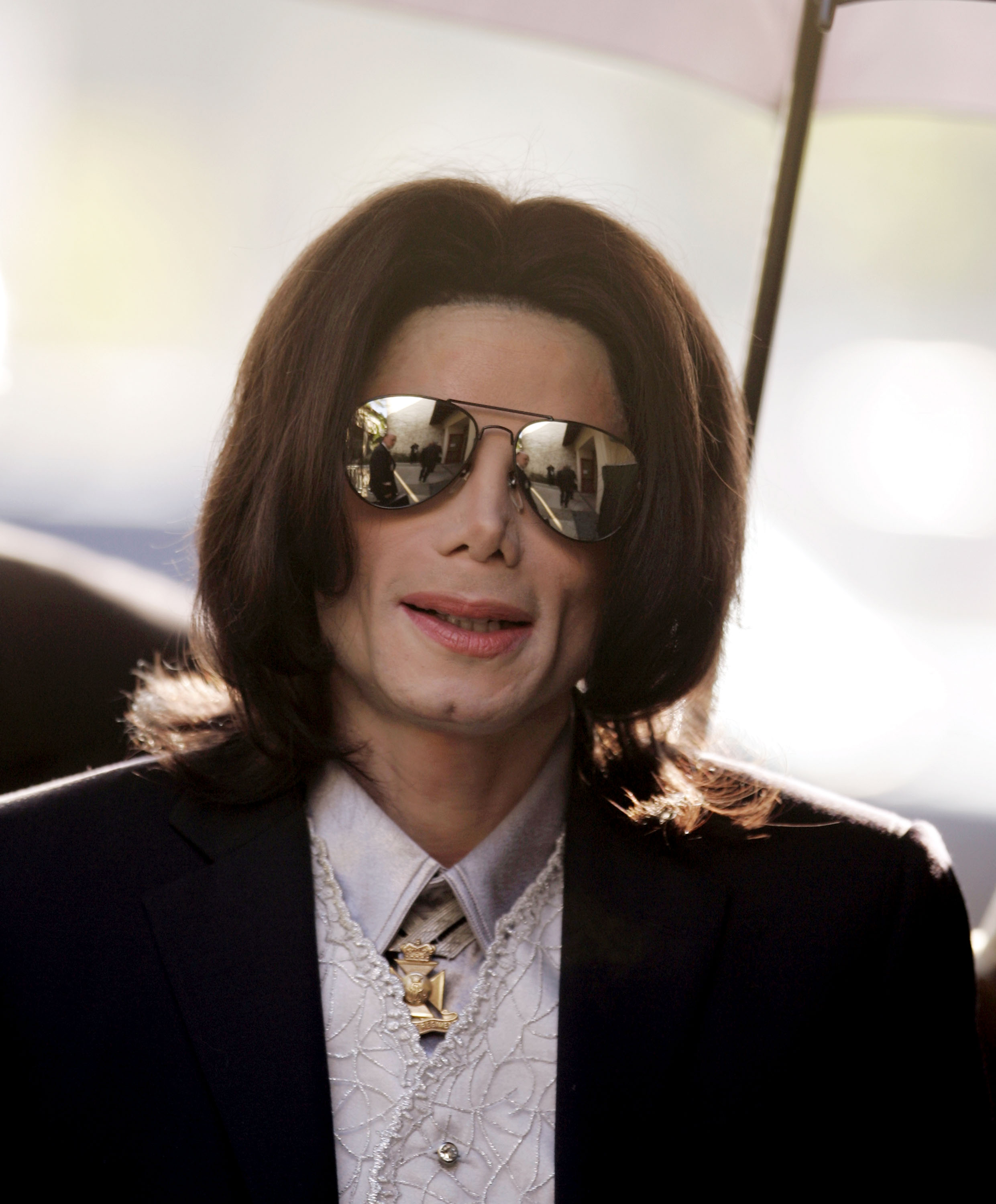 The documentary, 'Leaving Neverland' which aired for the first time in the UK on Tuesday, was aired hours after protesters gathered outside the central London offices of Channel 4, holding banners claiming he was innocent. (Source: Getty Images)