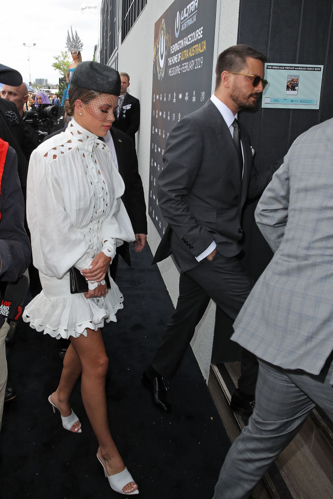 Sofia Richie and Scott Disick (Source: Getty Images)