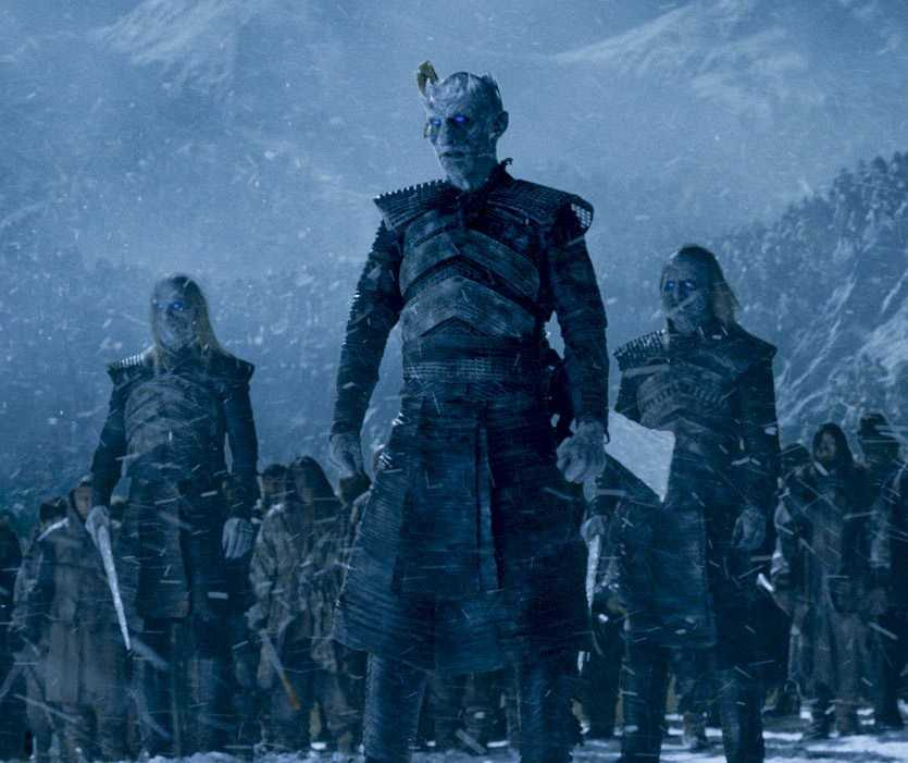 The Night King and his army in 'Game of Thrones'. (Source: IMDB)