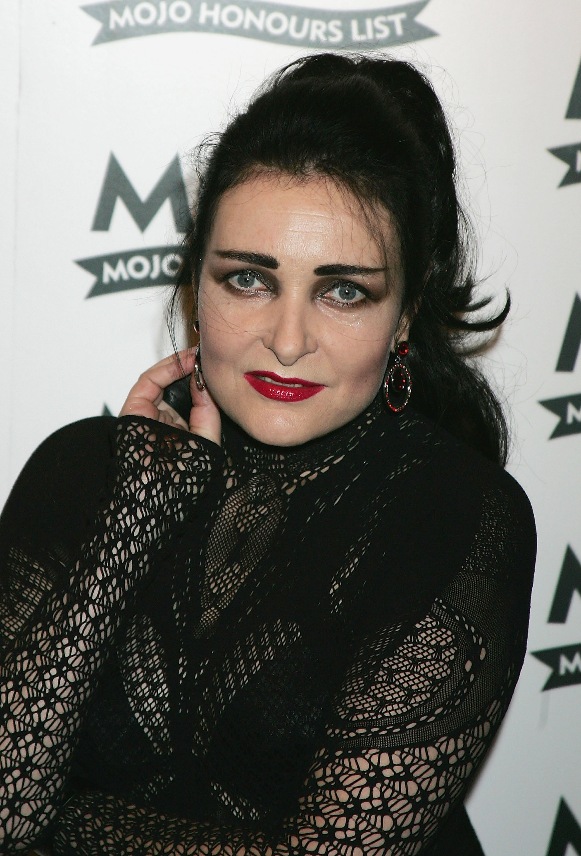 Siouxsie Sioux arrives at The MOJO Honours List 2005, the music magazine's second annual awards, at Porchester Hall on June 16, 2005 in London, England. The Honours List of 10 awards recognises 'career-long contributions to popular music' (Getty Images)