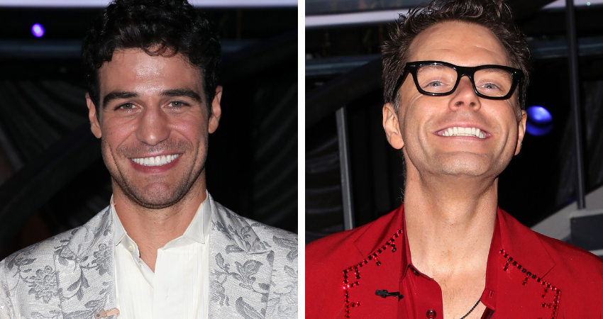 'Grocery Store' Joe Amabile (L) and Bobby Bones (R) have both managed to somehow never land in jeopardy despite receiving the lowest scores of the night more than once.