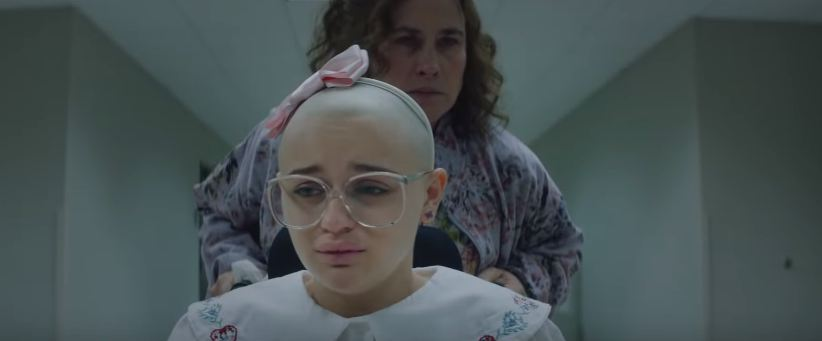 A still from 'The Act' featuring Patricia Arquette and Joey King as Dee Blanchard and Gypsy Blanchard. (Source: YouTube)