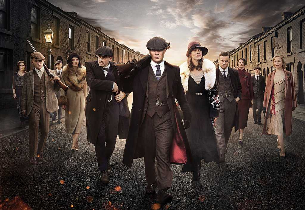 Brian's next steps will follow into the dingy world of 'Peaky Blinders'. (IMDb)