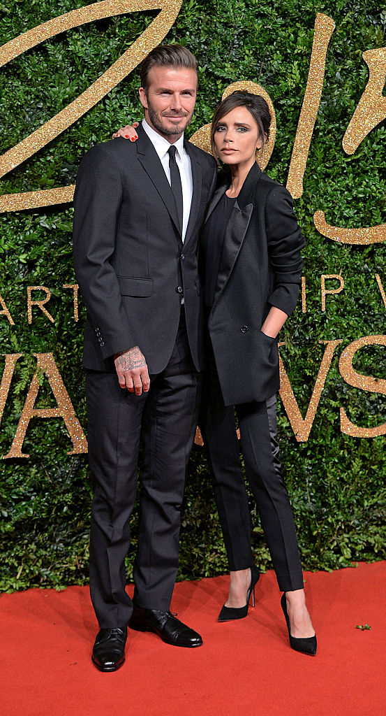 David Beckham and Victoria Beckham (Getty)