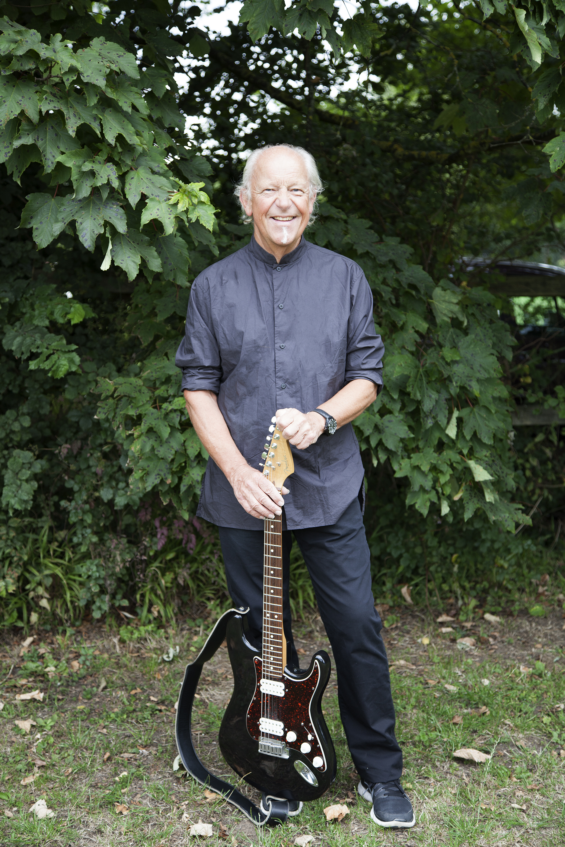 Martin Barre's new solo album 'Roads Less Travelled' is set for an October release. (Photo Credit: Elayne Barre)