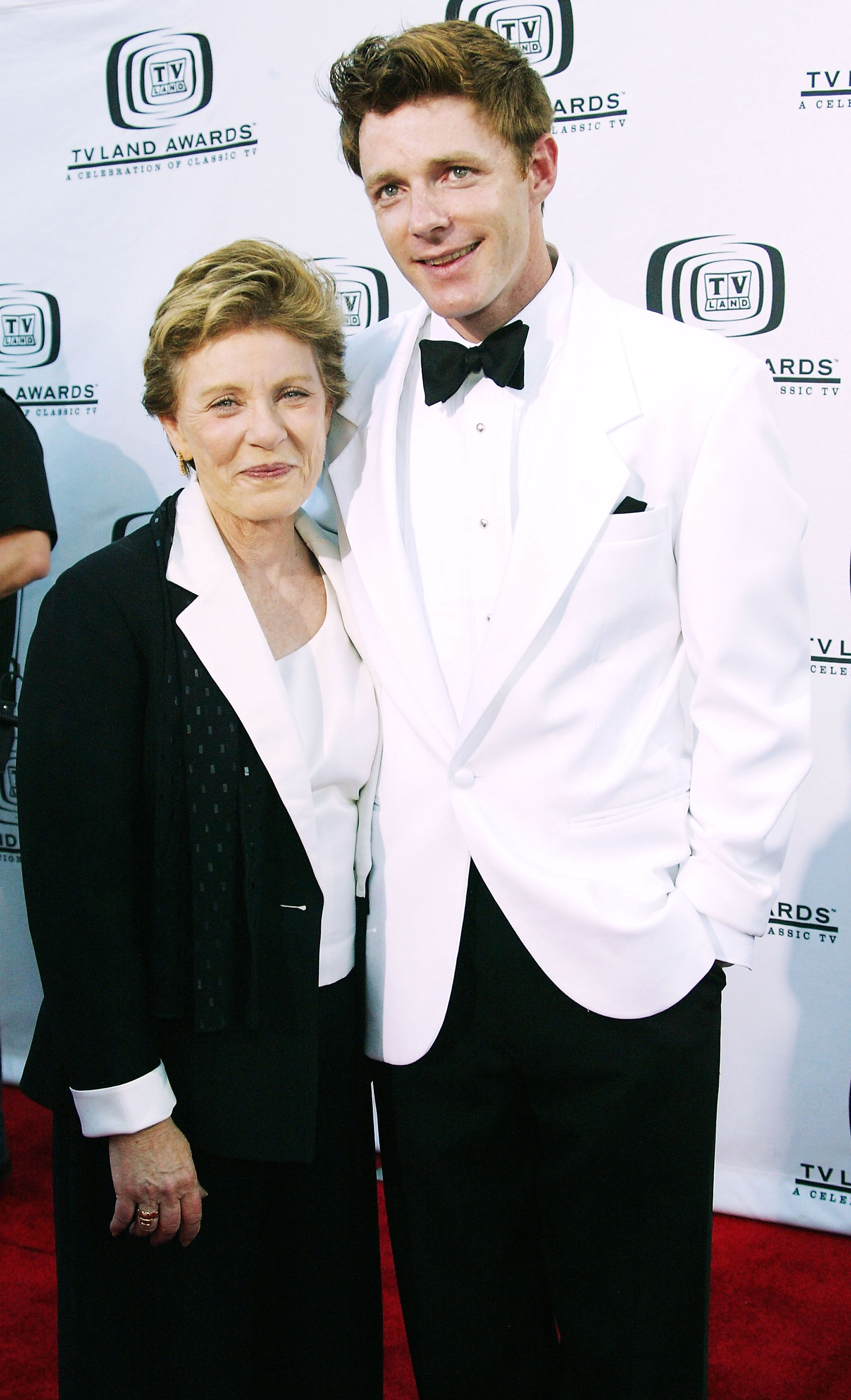 Actress Patty Duke (left) and her son Mackenzie Astin attend the 2nd Annual TV Land Awards at The Hollywood Palladium, in Hollywood, California. (Photo by Frederick M. Brown/Getty Images)