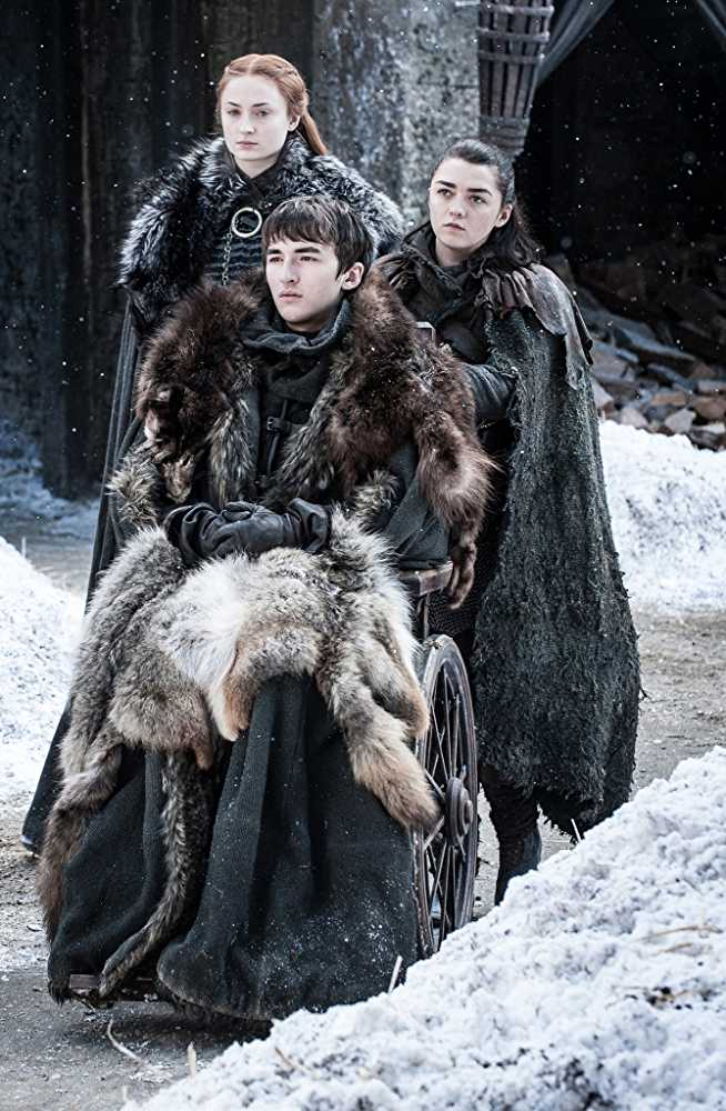 The Stark children were named after people who were significant to House Stark (IMDb)