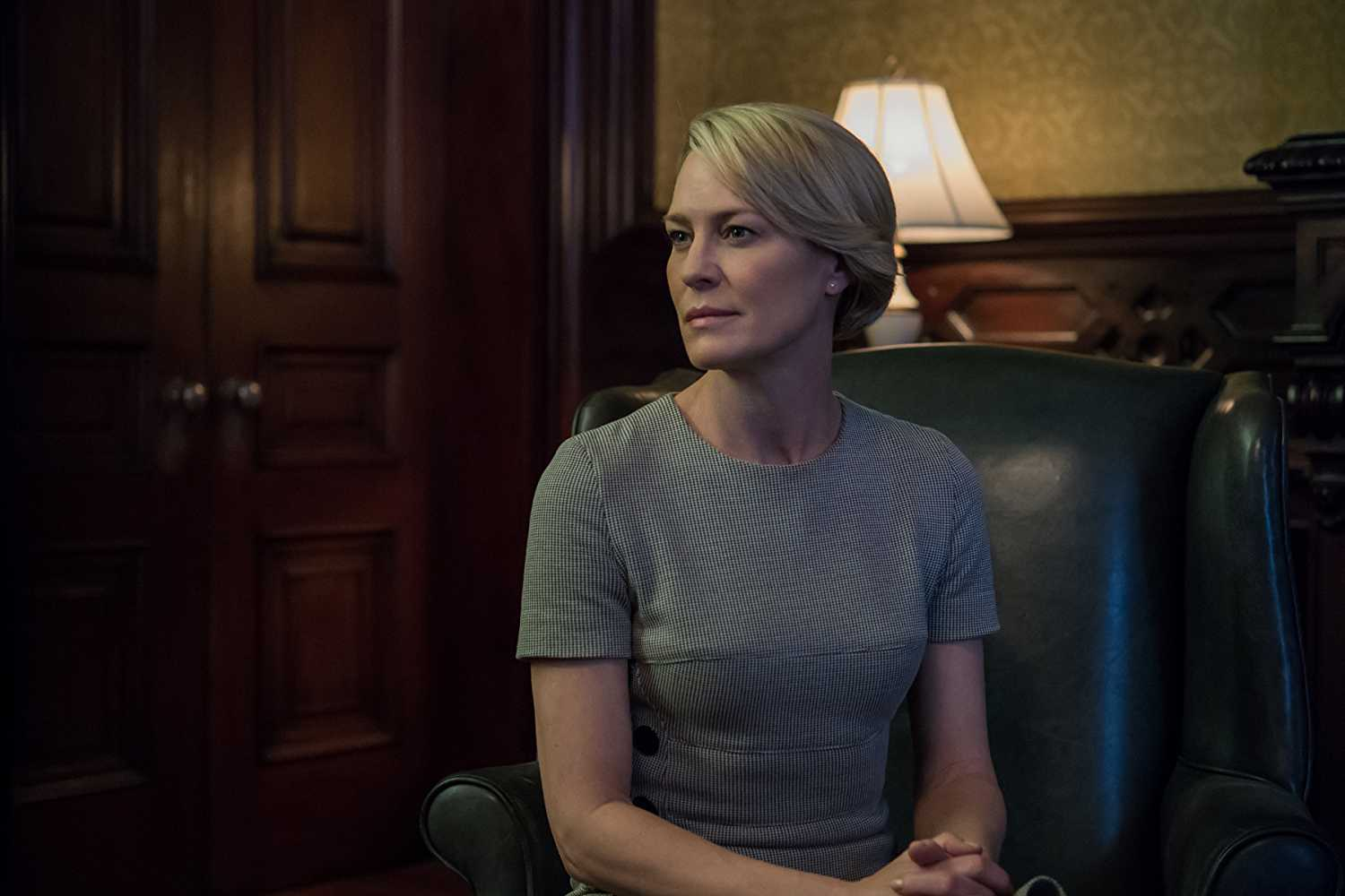 Wright's Claire Underwood will be the President in season six (Source: IMDb)
