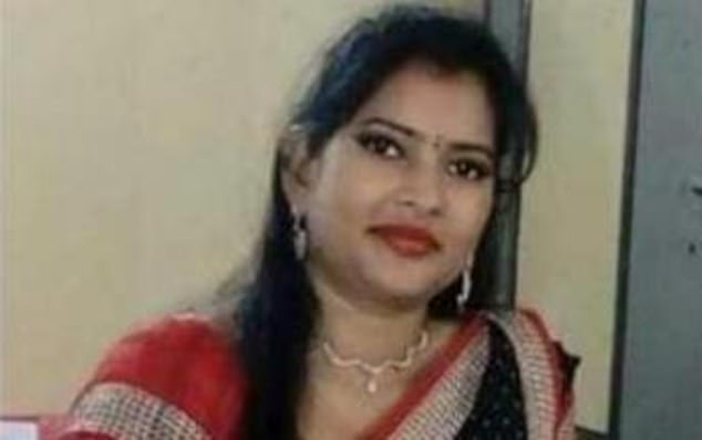 Police initially suspected her husband, Manish Sinha
