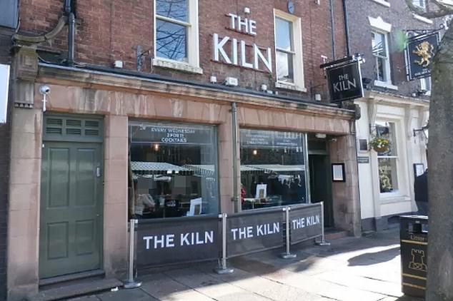 The attacker met the woman in The Kiln bar in Newcastle-under-Lyme before taking her back to his house. (Google Maps)