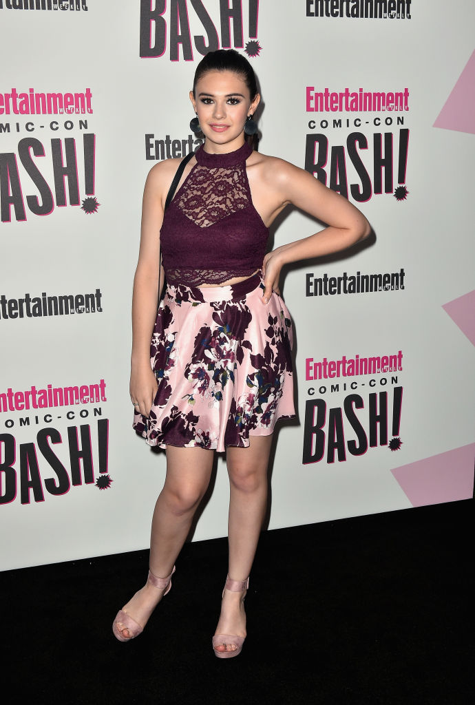 Nicole Maines attends Entertainment Weekly's Comic-Con Bash held at FLOAT, Hard Rock Hotel San Diego on July 21, 2018, in San Diego, California sponsored by HBO (Getty Images)