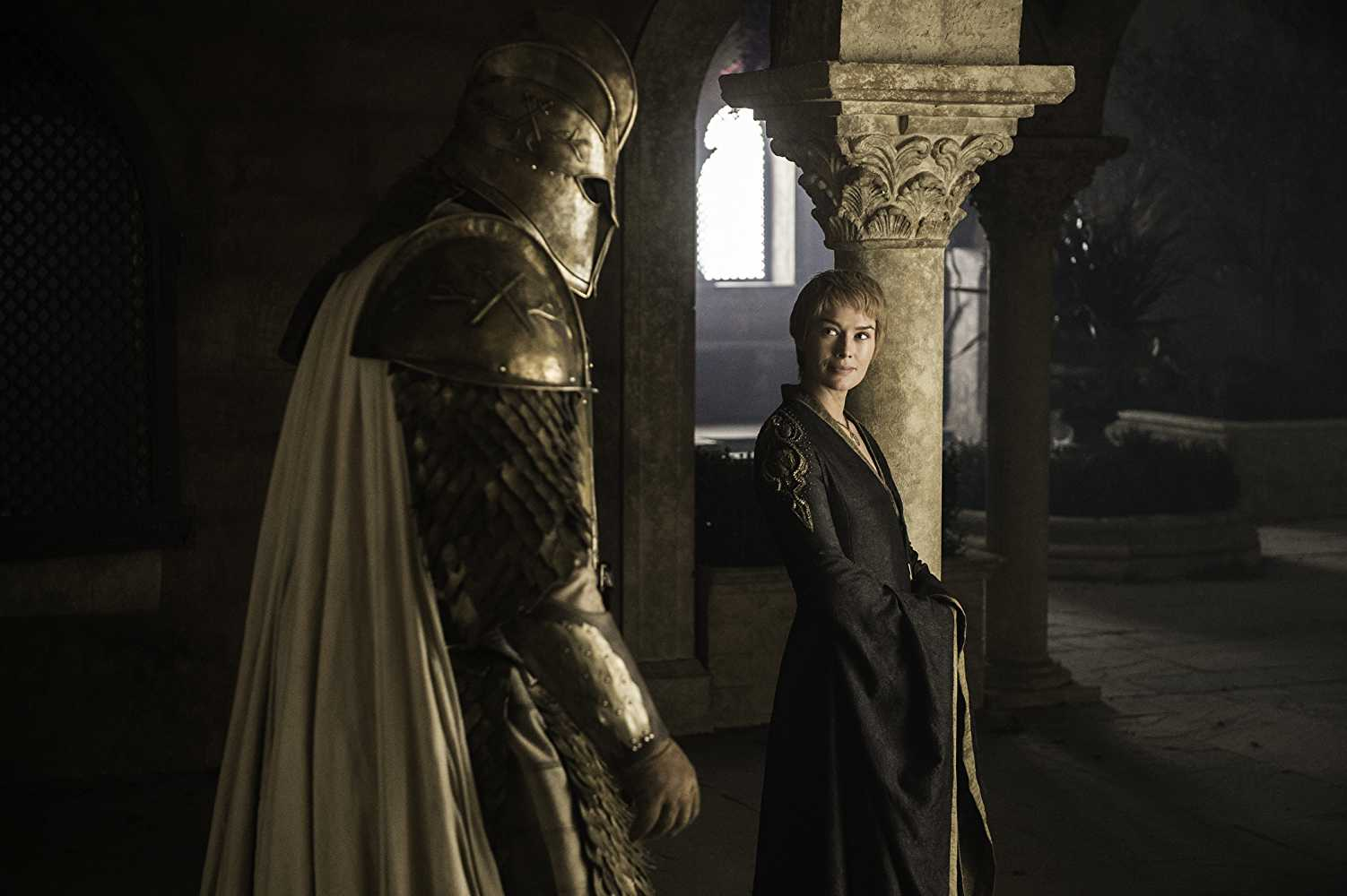 Clegane took a vow of silence to protect Cersei. (IMDb)