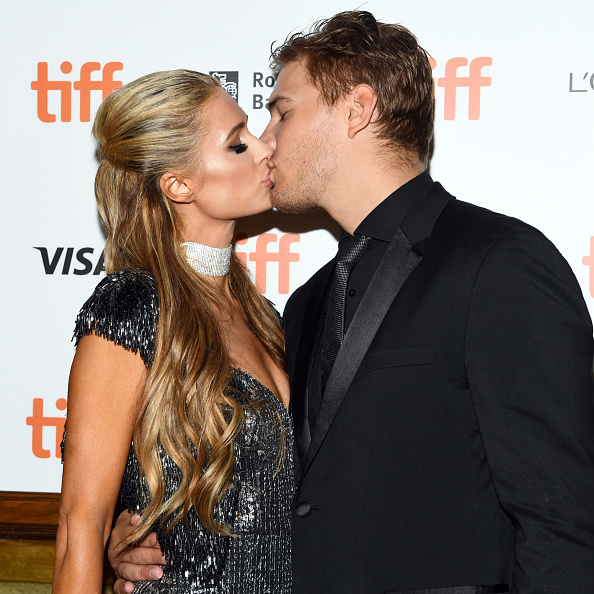 Paris Hilton and her ex-fiance Chris Zylka (Source: Getty Images)