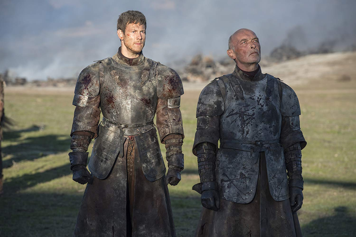 James Faulkner and Tom Hopper in Game of Thrones (2011) Image Courtesy: IMDB