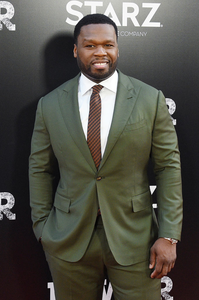 Curtis '50 Cent' Jackson attends the 'POWER' Season 5 Premiere at Radio City Music Hall on June 28, 2018, in New York City. (Getty Images)