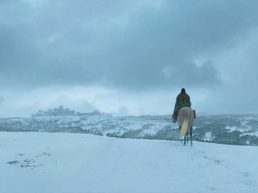Arya might set out on her journey to explore the West of Westeros. (IMDb)