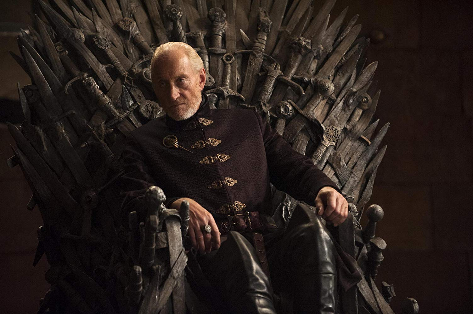 Charles Dance as Tywin Lannister in 'Game of Thrones'. (Source: IMDB)