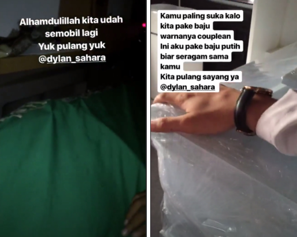 Thousands of sympathizers rushed to Fajarsyah's social media accounts on Tuesday, including celebrities and politicians, where they expressed their condolences at the singer's huge loss. (Source: Instagram)