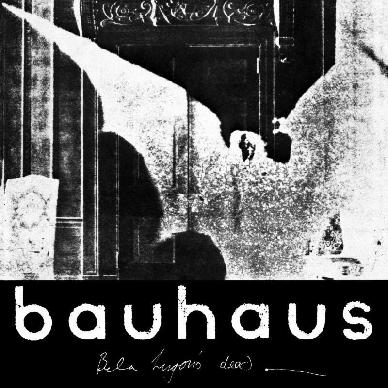 Album art for Bauhaus' 'The Bela Session'.