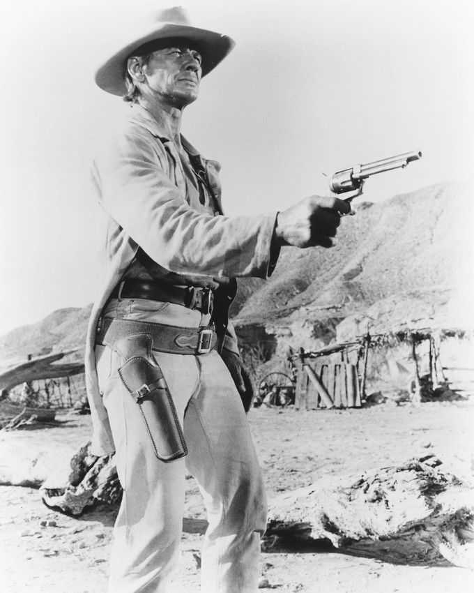 Charles Bronson in Once Upon a Time in the West (1968). (IMDb)