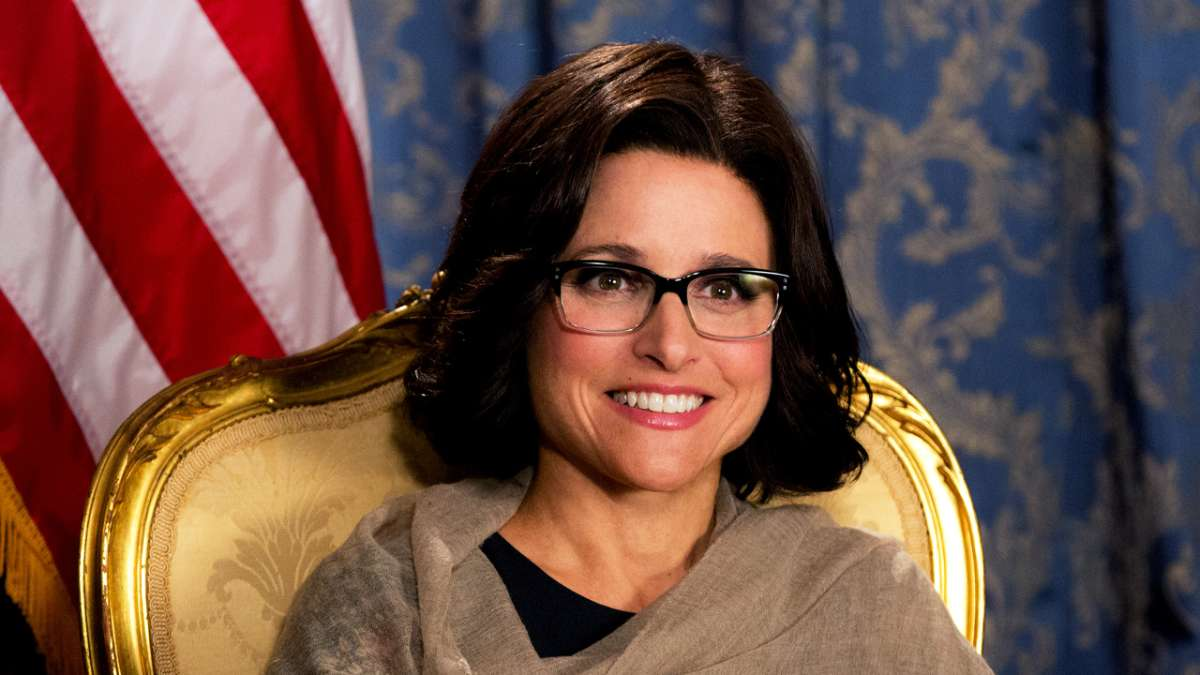 Julia Louis-Dreyfus as President Selina Meyer (HBO)