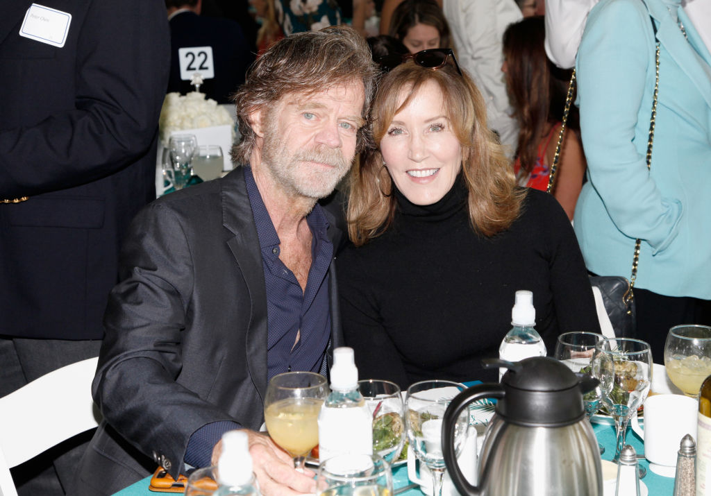 William H. Macy and Felicity Huffman attend The Rape Foundation's Annual Brunch on October 7, 2018, in Beverly Hills, California. (Source: Tibrina Hobson/Getty Images for The Rape Foundation)