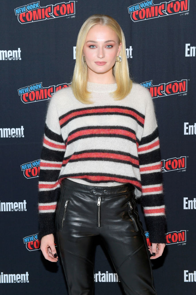 Sophie Turner revealed that she had some past romances with girls (Source: Getty Images)