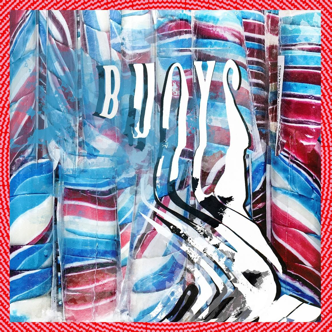 Album art for Panda Bear's 'Buoys', due out on Feb 8 via Domino Records.